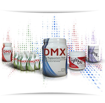 DMX, Life style challenge!  GMO FREE, GLUTEN FREE, All natural, plant based.   You get a fitness coach, that helps you learn how to live a healthier life style.  Healthy for you, works and actually tastes good.