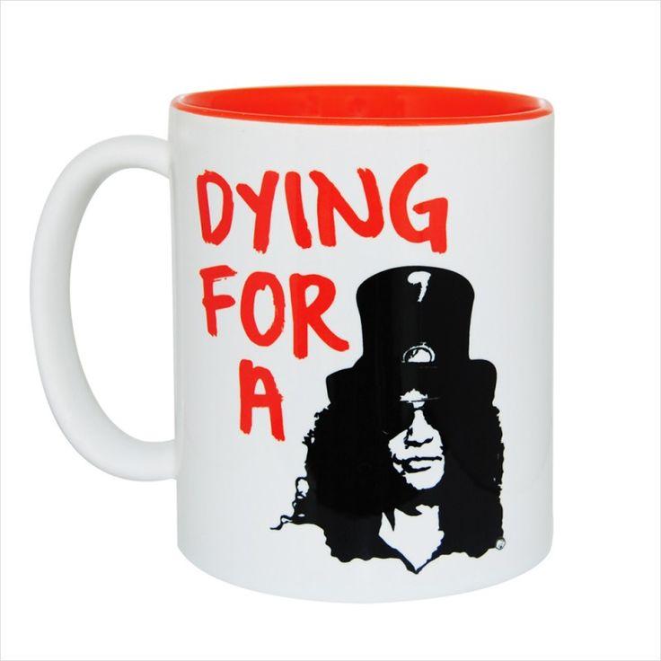 Dying for a Slash Gift Mug & Tin/Box by HairyBaby.com