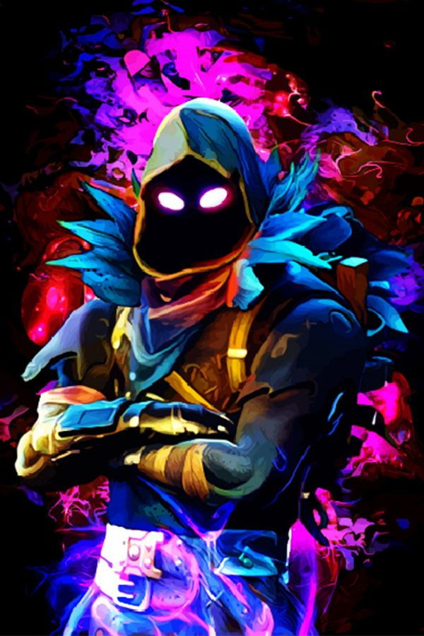 Fortnite Characters Displate Artwork By Artist Hustl Art Based On Characters From The Popular Fortnite Battle Royale Video Game 35 Art Poster Prints Neon