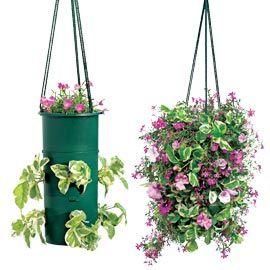 Flower Tower Hanging Basket, Hanging Garden, Vertical Garden