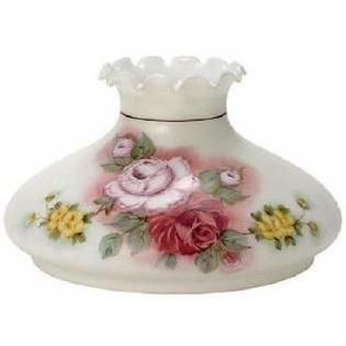 65051 - Satin White Tam O Shanter With Burgundy And Pink Roses
