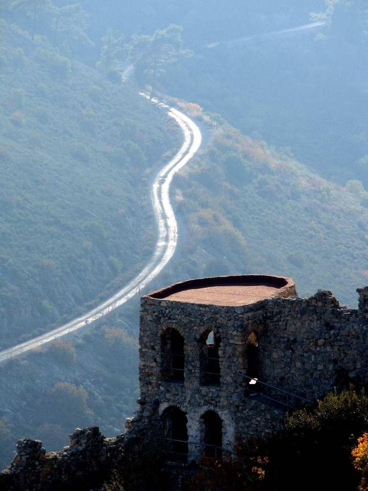 St Hillarion Castle in Kyrenia Northern Cyprus