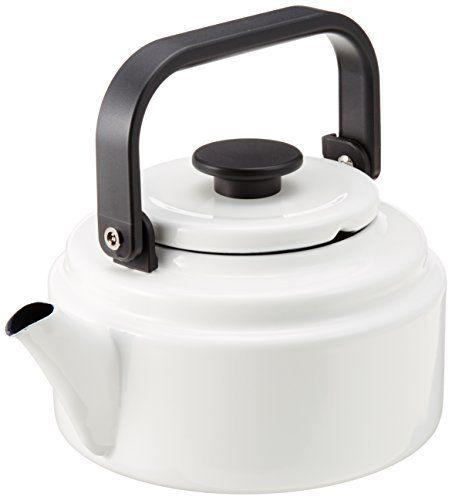 White kettle Noda-Horo-Electromagnetic-Cooker-Amuketoru-20l-White-Am-20k