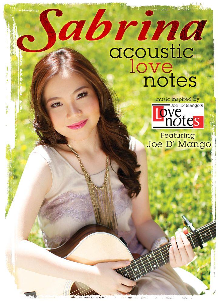 MUSIC: Acoustic Love Notes from SABRINA and Joe D' Mango