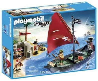 Playmobil Πειρατές & Θησαυροφύλακες (5646) | 39.99