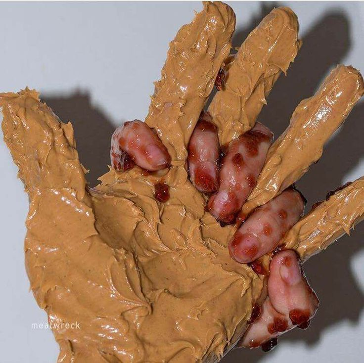 I guess you can call it *puts on sunglasses* peanut BUTTER FINGERS