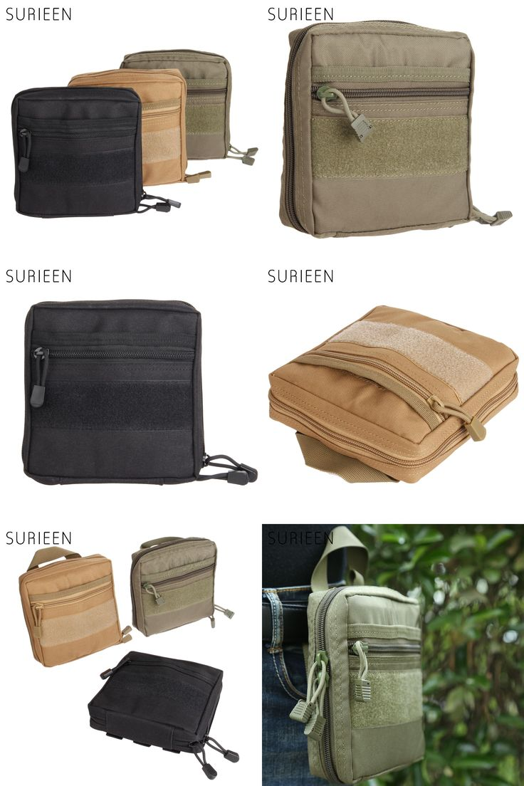 [Visit to Buy] SURIEEN MOLLE Military Pouch Tactical 1000D Emergency Medical Kits Outdoor First Aid Survival Bag Multi EDC Gadget Pouch Pocket #Advertisement