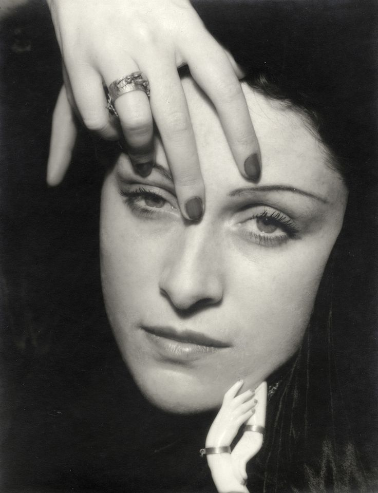 Man Ray, Portrait of Dora Maar, 1936. Image via The Red List. - Surrealist Photographer Dora Maar Was More Than Picasso's Muse