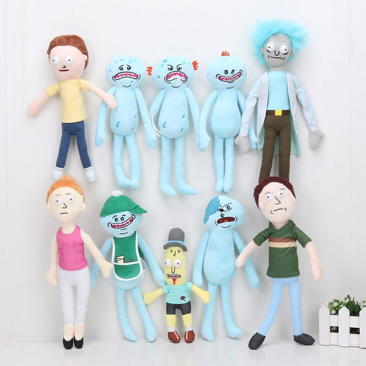 Horrible Rick and Morty dolls