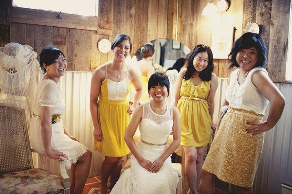 photo ideas from stylemepretty.comPhotos Ideas, Bridesmaid Outfit, Photo Ideas, Colors, Engagement Friends, Mismatched Dresses, Bm Dresses, Cream, Photoshoot Ideas