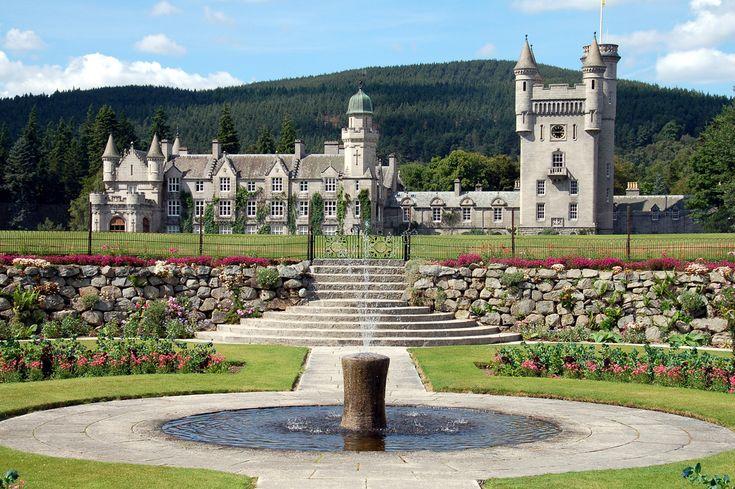 Balmoral Castle – Scotland -- Highland home of Queen Elizabeth II