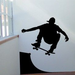 Skater Boy - Wall Decals