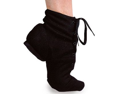 Ref: JB3    Sansha's durable canvas split sole boot. Fits just over the ankle and has a moulded heel for support. Great value for money!