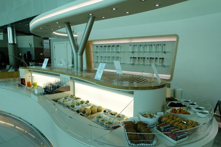Review: Emirates Business Class Lounge in Dubai
