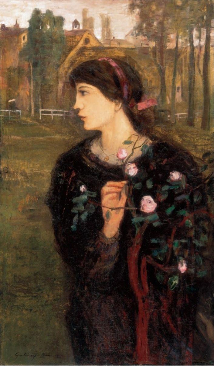 Gulácsy Lajos: Dal a rózsatőről 1905