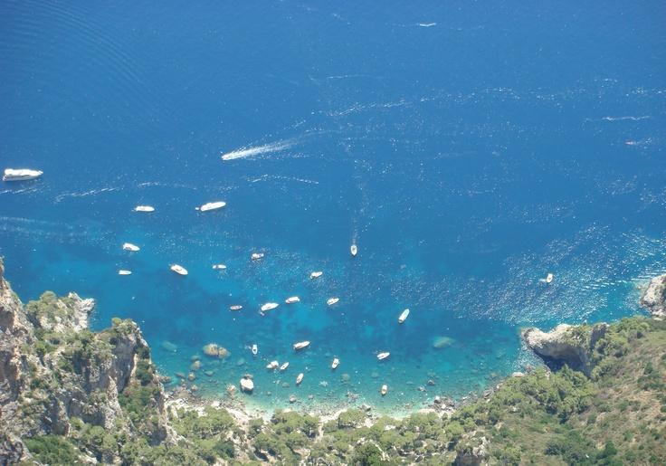 Bay in Capri