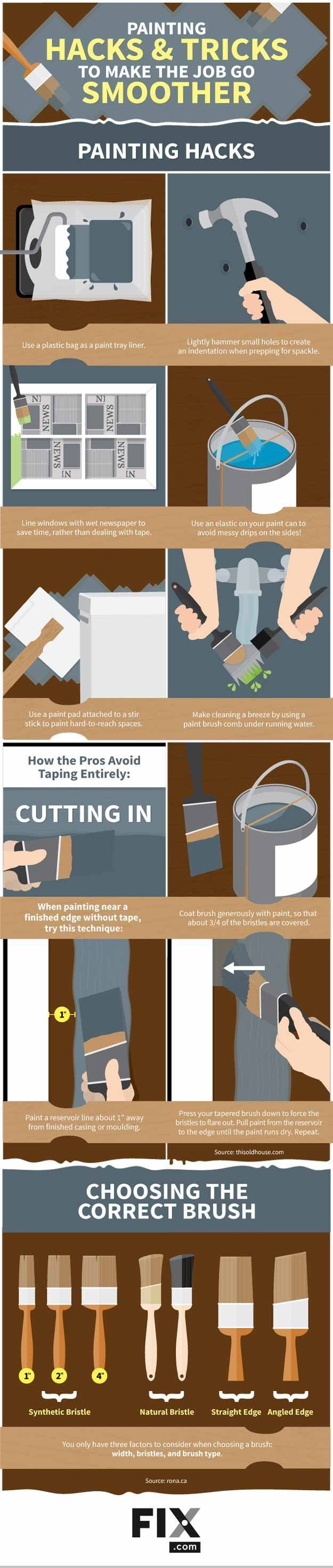 15 must see painting hacks pins painting trim tips - Interior painting tips and tricks ...