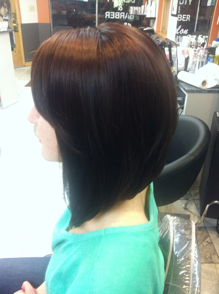 The long Bob Hairstyle by Leyla