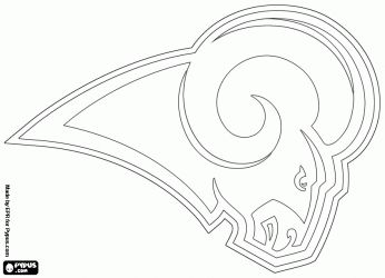 nfl coloring pages google search - Nfl Football Logos Coloring Pages
