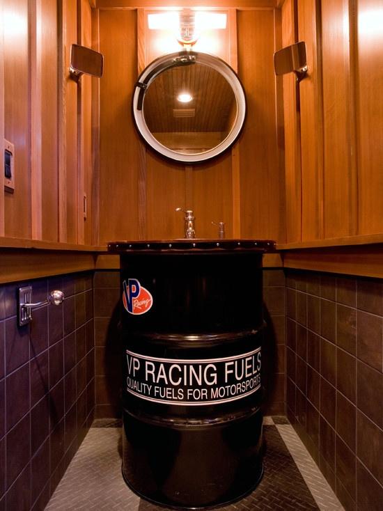 Bath Sink Garage Pinterest