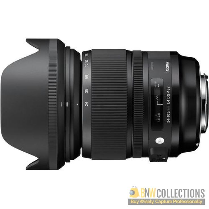 Buy Sigma 24-105mm f/4 DG OS HSM (A) At Rs.77,200 Features >> Optical Stabilizer, Internal Focusing System, Hyper Sonic AF Motor Cash on Delivery In All Over Pakistan, Hassle FREE To Returns Contact # (+92) 03-111-111-269 (BnW) Email :- info@bnwcollections.com #BnWCollections #Sigma #Camera #Lens