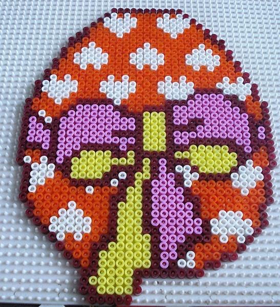 Osterei Bügelperlen /  Easter hama perler beads