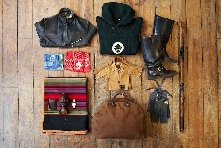 robert holden - 'the burning house' project #burninghouse Melissa Howard, 37, New York, Stock - Vintage Menswear Store