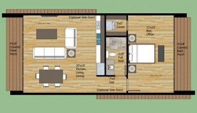 Resultado De Imagen Para Croquis De Una Casa Por Dentro De 8x4 Planos De Casas Pequeñas Planos De Casas Modernas Planos De Casas