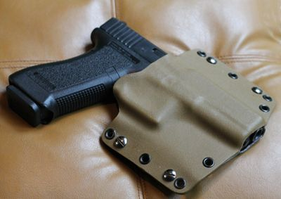How to make a quality kydex holster at home.  Something to try when I get an M