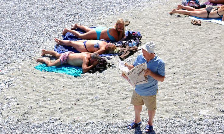 7 feil turistene gj?r p? charterreiser