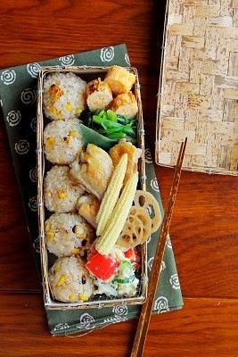 とうもろこしご飯弁当 | 日本の片隅で作る、とある日のお弁当