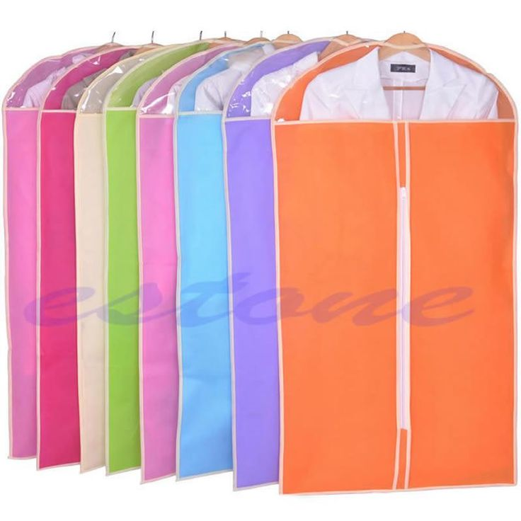 [Visit to Buy] Clothes Dress Garment Cover Bag Dustproof Coat Skirt Storage Protector 3 Sizes #Advertisement