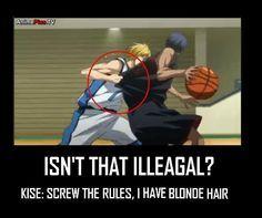Image result for kuroko no basket funny