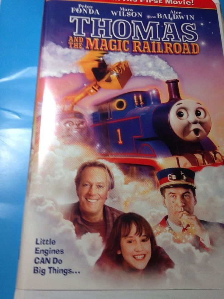 Thomas The Train And The Magic Railroad Movie VHS video In Case