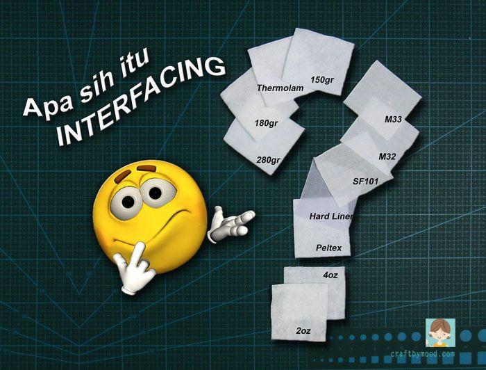 Apa sih itu Interfacing? | craftbymood.com