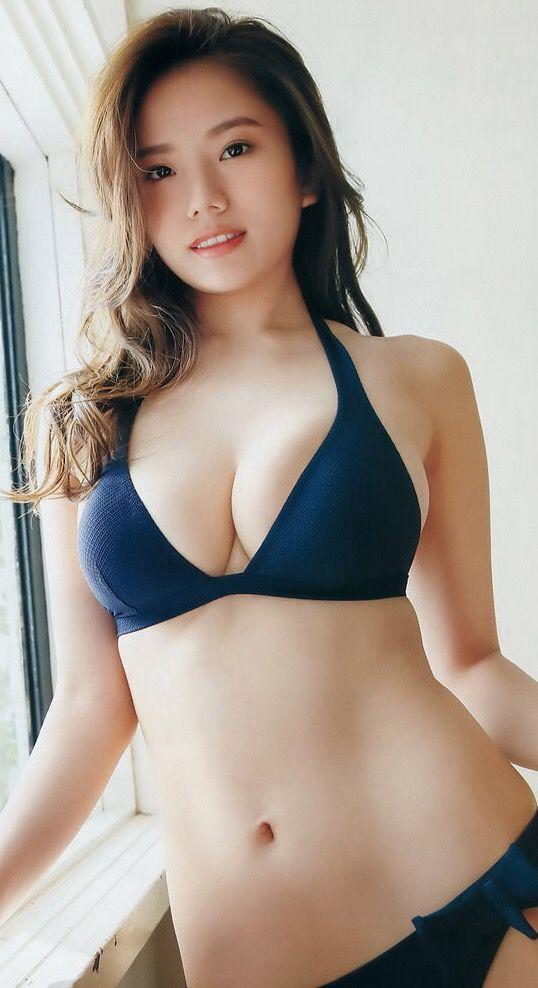 Pin By 46 On 伊東紗治子 Pinterest Bikini Girls Asian And