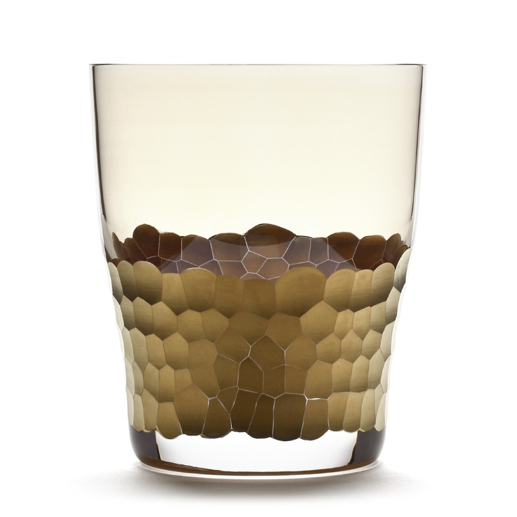 GOLD PAILLETTE DOUBLE OLD FASHIONED