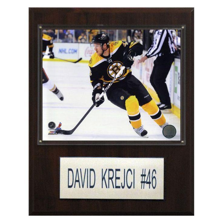 NHL 12 x 15 in. David Krejci Boston Bruins Player Plaque - 1215KREJCI