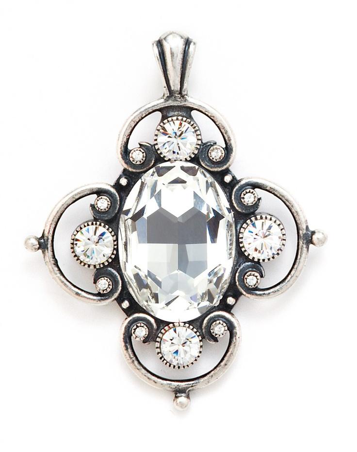 Enchanting Swarovski crystal enhancer from Miglio