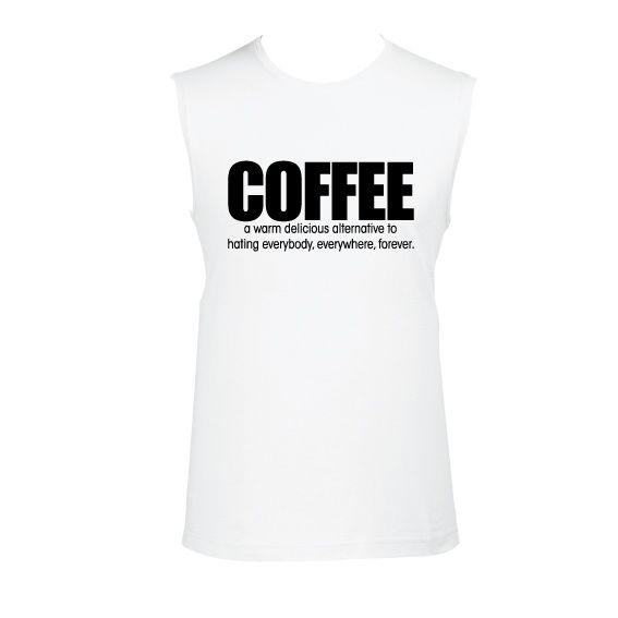Heren | tanktop Coffee as alternative (811180)