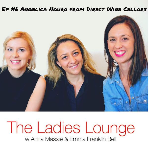 Wanna talk booze and business? haha Anna Massie and I do on The Ladies Lounge Podcast in this episode with Angelica Nohra! Husband and wife team Angelica and Scott head up Direct Wine Cellars which has had enormous success doing over a million dollars personally in B2B sales. In a nutshell there's lots of laughs, business gems and a jolly good time! Listen in here and subscribe: https://itunes.apple.com/au/podcast/the-ladies-lounge/id1135933189?i=374115416&mt=2