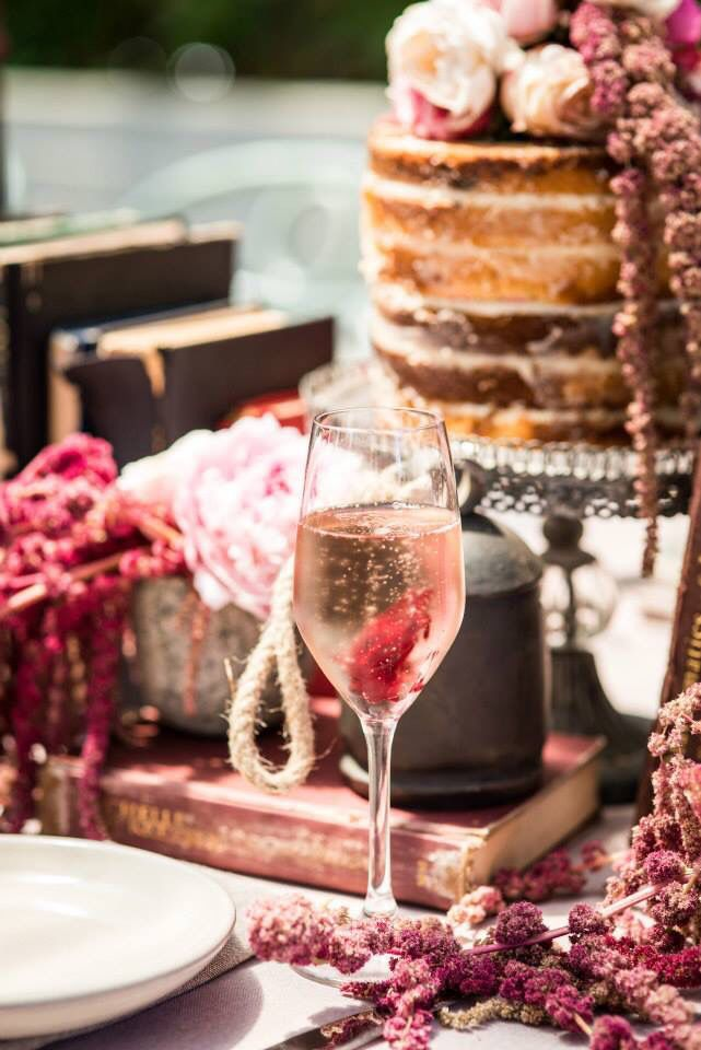 Kitchen Tea Styling / Naked Cake / Flowers / Table Decorations / Rustic  Venue // The Grounds Of Alexandria Styling & Floral Design // Mary Mitry  Photography // G6K Photography Cakes // Trovatino Cafe