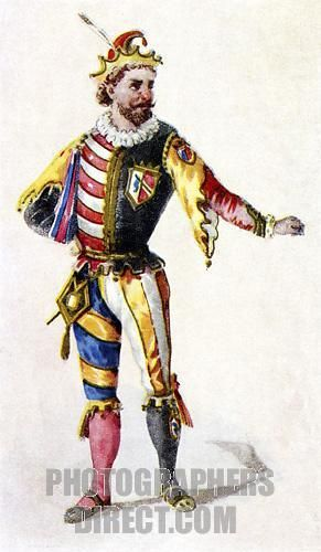 Rigoletto costume for court jester from Verdi , Giuseppe opera ( 1851