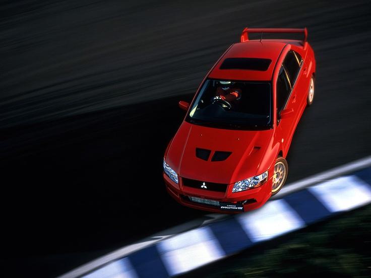 Mitsubishi Lancer GSR Evolution VII- just closely akin to my own little blue box