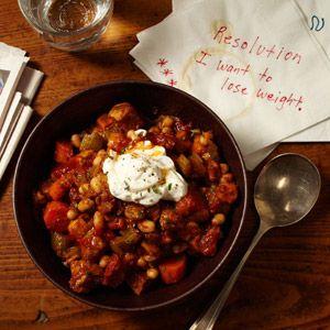 Sweet Potato and Pork Chili..oh that sounds wonderful!