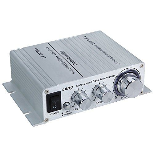 Features: 1. Uses the Class-D #LP2020 Audio Amplifier IC for low distortion,acoustically accurate reproduction of music. 2. Tone/Direct switching allows for cus...