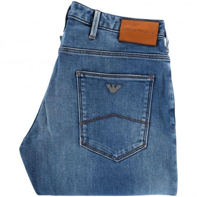 fddf4724bc Emporio Armani Blue Denim J06 Slim Fit Jeans   Jeans   Jeans ...