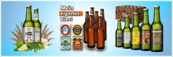 Selbstgestaltetes Bier als Geschenk