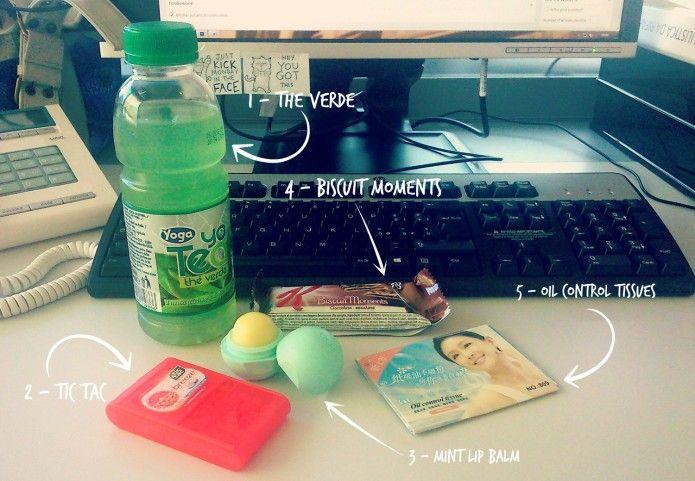 Tag » Top 5: gli immancabili per sopravvivere a una giornata in ufficio (Summer edition) | » Cookies, tea & make-up