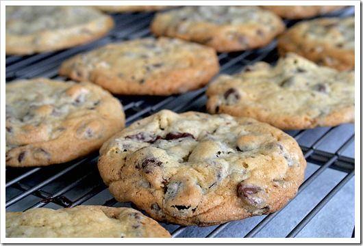 Chocolate Cherry Chunk Cookies | Baking | Pinterest | Chocolate Cherry ...